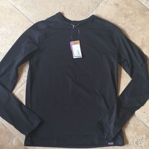 Long sleeve Patagonia polygiene shirt